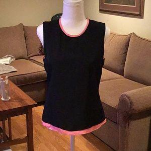 Reed Krakoff Black & Pink top